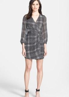Diane von Furstenberg 'Sigourney' Print Silk Wrap Dress