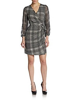 Diane von Furstenberg Sigourney Silk Wrap Dress