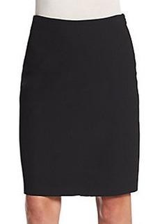 Diane von Furstenberg Sissy Wrap-Front Pencil Skirt