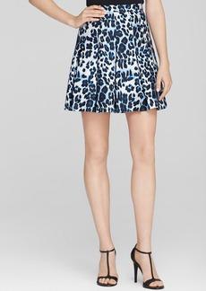 DIANE von FURSTENBERG Skirt - Gemma Snow Cheetah Print