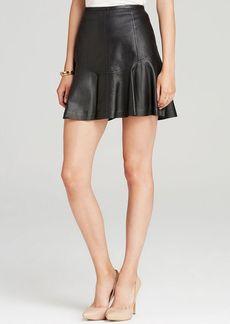 DIANE von FURSTENBERG Skirt - Leather Flirty