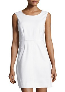 Diane von Furstenberg Sleeveless Capreena Ponte Dress