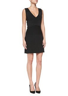 Diane von Furstenberg Sleeveless Combo Fit-and-Flare Dress