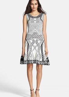 Diane von Furstenberg Sleeveless Fit & Flare Dress