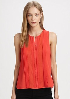 Diane von Furstenberg Slice Sleeveless Top