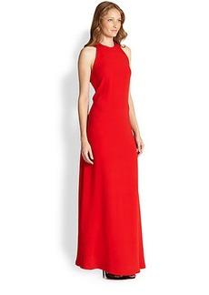 Diane von Furstenberg Sophia Silk Halter Gown