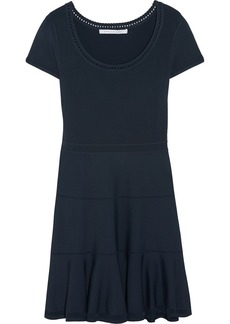 Diane von Furstenberg St. Petersburg Clean stretch-knit mini dress
