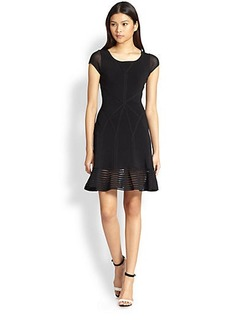 Diane von Furstenberg St. Petersburg Fit & Flare Dress