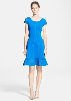 Diane von Furstenberg 'St. Petersburg' Knit A-Line Dress