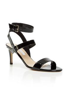 DIANE von FURSTENBERG Strappy Sandals - Dahlia Mid Heel