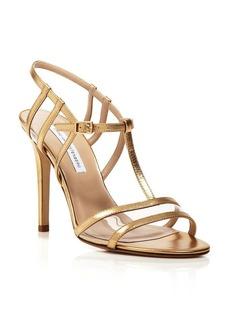 DIANE von FURSTENBERG Strappy Sandals - Viola High Heel