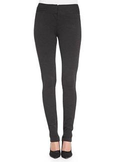 Diane von Furstenberg Structured Knit Stretch Leggings