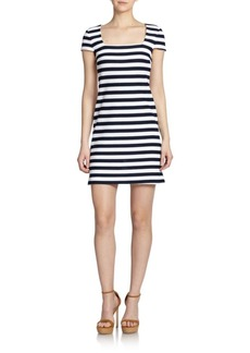 Diane von Furstenberg Suji Striped Cotton Dress
