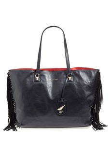 Diane von Furstenberg 'Sutra Ready to Go - Large' Fringe Leather Tote