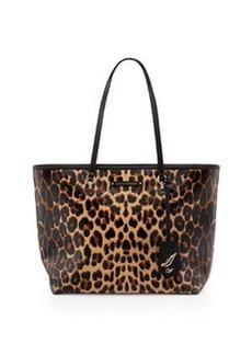 Diane von Furstenberg Sutra Ready to Go Tote Bag, Sandalwood Leopard