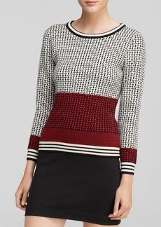 DIANE von FURSTENBERG Sweater - Micro Stitch Wool