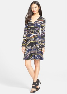 Diane von Furstenberg 'T72' Print Silk Jersey Wrap Dress (Nordstrom Exclusive)
