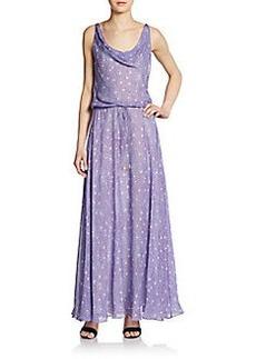 Diane von Furstenberg Tadd Printed Silk Maxi Dress