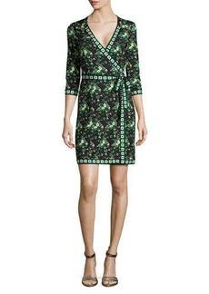 Diane von Furstenberg Tallulah Floral-Print Silk Wrap Dress