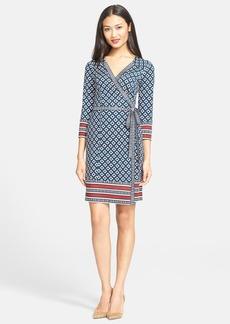Diane von Furstenberg 'Tallulah' Print Silk Wrap Dress