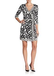 Diane von Furstenberg Tallulah Silk Jersey Wrap Dress