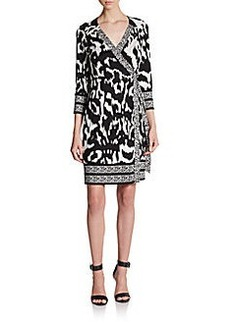 Diane von Furstenberg Tallulah Silk Wrap Dress