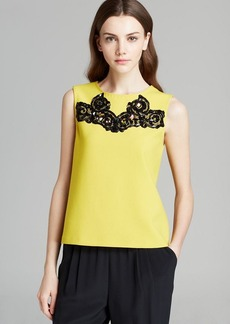 DIANE von FURSTENBERG Tank - Betty Lace Detail