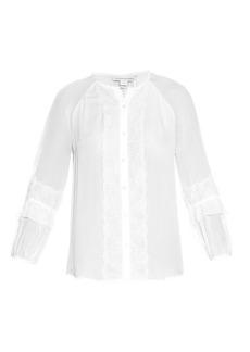 Diane Von Furstenberg Taylor blouse