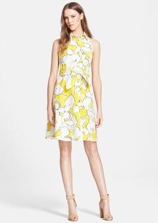 Diane von Furstenberg 'Tenner' Floral Print Shirtdress