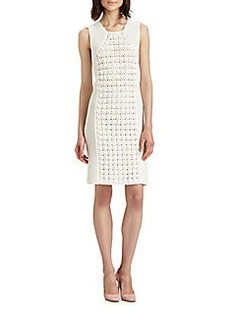 Diane von Furstenberg Thalia Open-Knit Dress