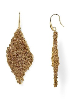 DIANE von FURSTENBERG Thea Textured Drop Earrings