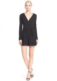 Diane von Furstenberg 'Tillie' Jersey Lace Romper