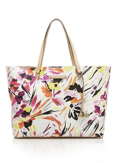 DIANE von FURSTENBERG Tote - Large Ready To Go Painterly Floral