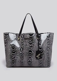 DIANE von FURSTENBERG Tote - Sutra Large Ready To Go Moire
