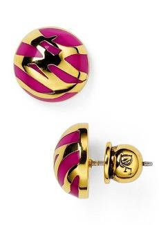 DIANE von FURSTENBERG Twig Stud Earrings
