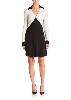 Diane von Furstenberg Twist Wool Dress