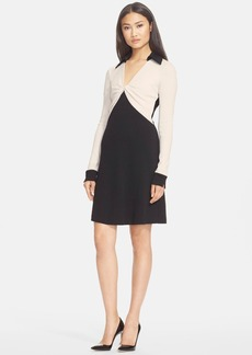 Diane von Furstenberg 'Twist' Wool Shift Dress