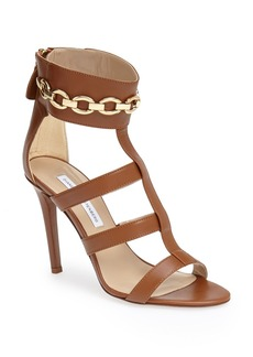 Diane von Furstenberg 'Uma' Leather Sandal (Women)