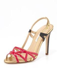 Diane von Furstenberg Upton Strappy Slingback Sandal
