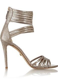 Diane von Furstenberg Ursula printed leather sandals