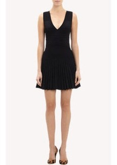 Diane von Furstenberg V-neck Fit & Flare Dress