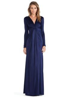 Diane von Furstenberg V Neck Gown