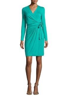 Diane von Furstenberg Valencia Jersey Wrap Dress, Parakeet