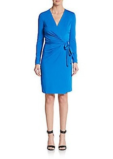 Diane von Furstenberg Valencia Long Sleeve Wrap Dress
