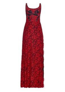 Diane Von Furstenberg Vamp gown