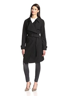 Diane von Furstenberg Women's Belted Trench Coat