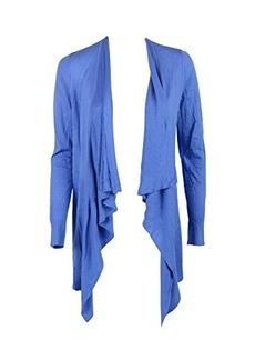 Diane von Furstenberg Womens Cornflower Dvf Erin Drape Sweater S