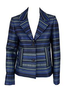 Diane von Furstenberg Womens Star Sapphire Teyona Look 7 Blazer 8