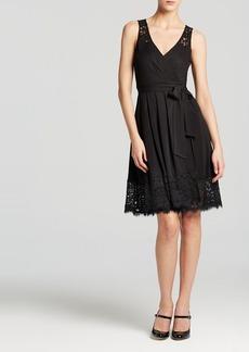 DIANE von FURSTENBERG Wrap Dress - Lex Lace Inset