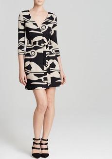 DIANE von FURSTENBERG Wrap Dress - New Julian Two Mini